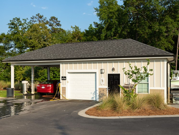 Car Wash Area at Abberly Crossing Apartment Homes, Ladson, South Carolina