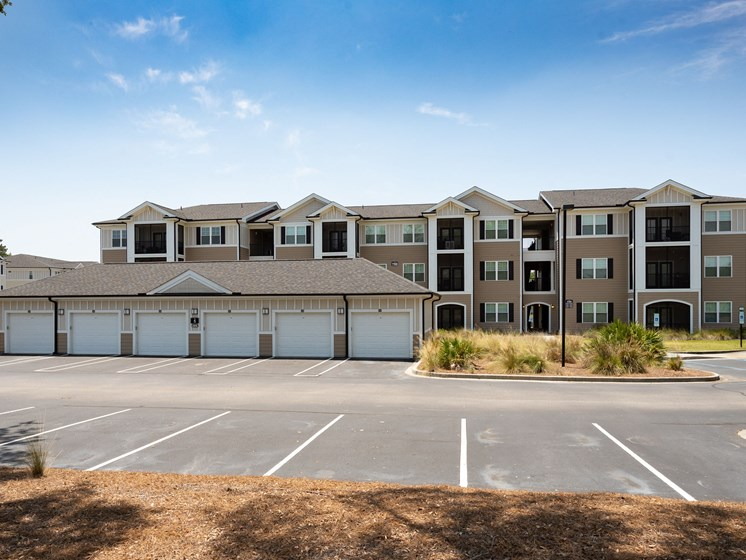 Garages Available at Abberly Crossing Apartment Homes, South Carolina