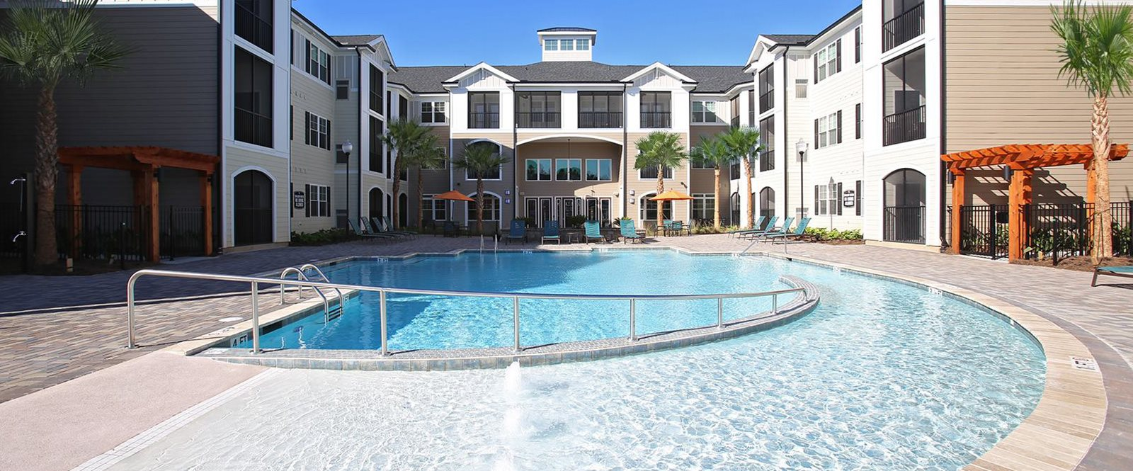Crystal Clear Swimming Pool at Abberly Crossing Apartment Homes, South Carolina, 29456