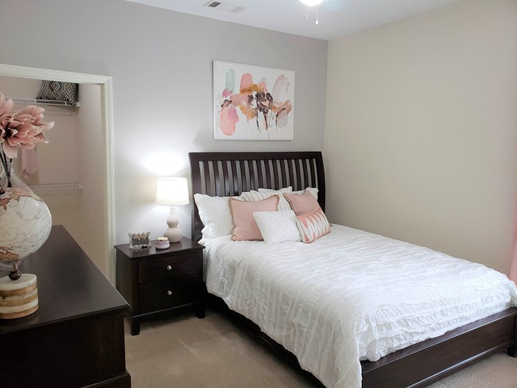 Well Appointed Bedroom at Abberly Grove Apartment Homes, Raleigh, North Carolina