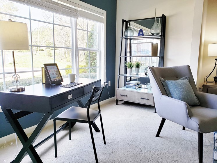 Sunrooms with Full Picture Windows to Fill Your Home with Natural Light at Abberly Grove Apartment Homes, Raleigh, 27610