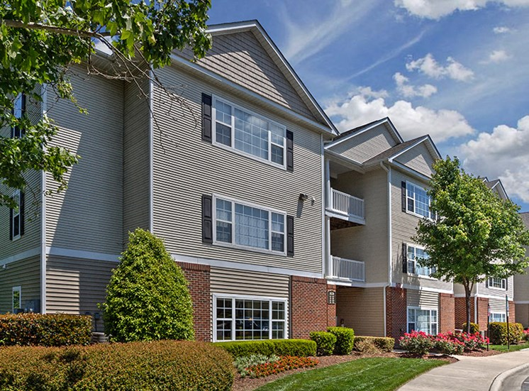 Attached garages available at Abberly Grove Apartment Homes, Raleigh, NC