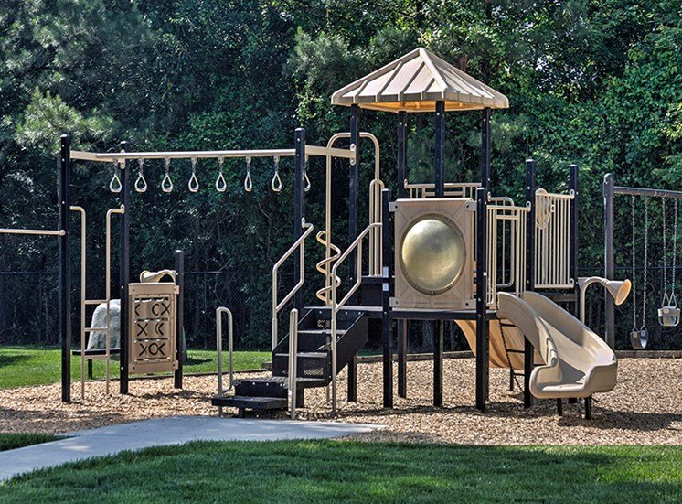 The playground is the perfect spot for some outdoor fun at Abberly Grove Apartment Homes, North Carolina, 27610