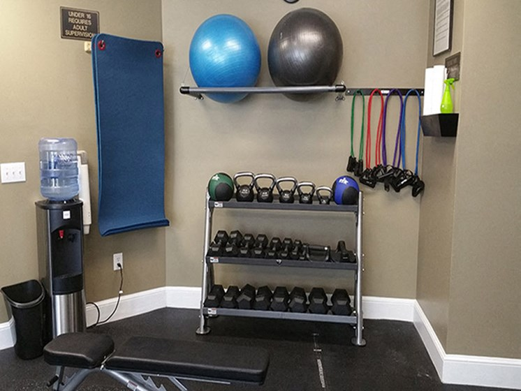 Advanced Cardio and Free Weights at Abberly Grove Apartment Homes, Raleigh