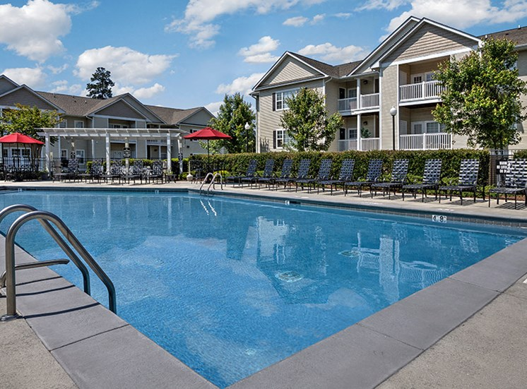 Splash in the pool at Abberly Grove Apartment Homes, Raleigh, NC 27610