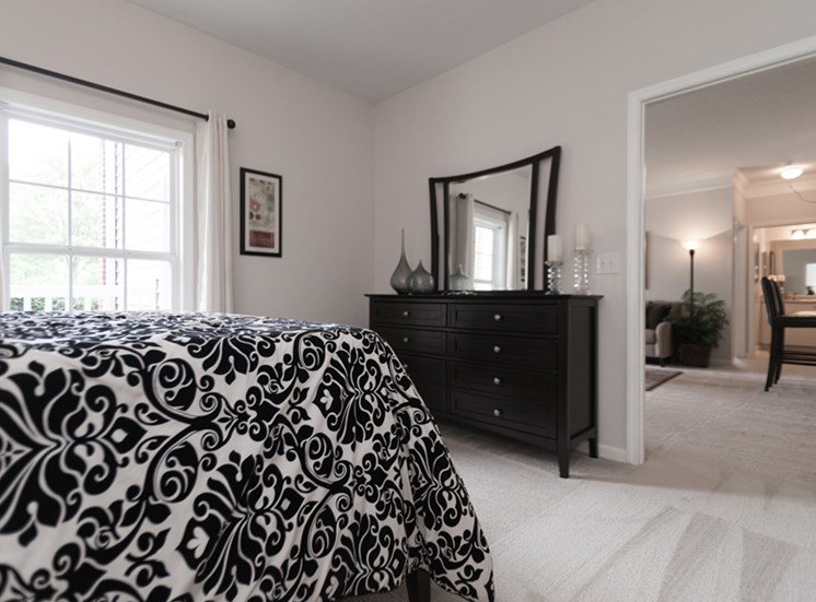 Spacious Bedrooms at Abberly Grove Apartment Homes, Raleigh