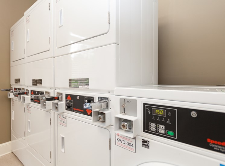 Laundry Rooms at Abberly Grove Apartment Homes, Raleigh, 27610