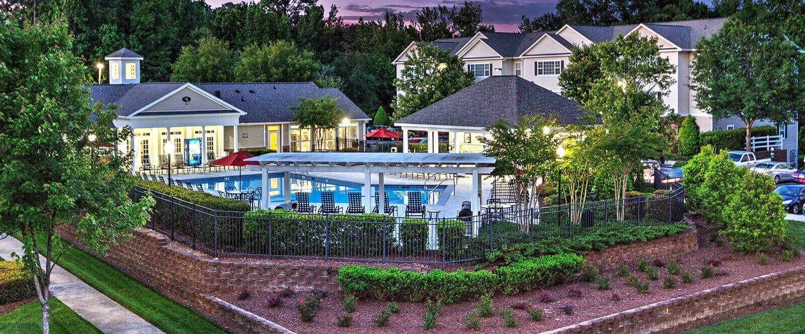 Professionally Maintained Community at Abberly Grove Apartment Homes by HHHunt, Raleigh