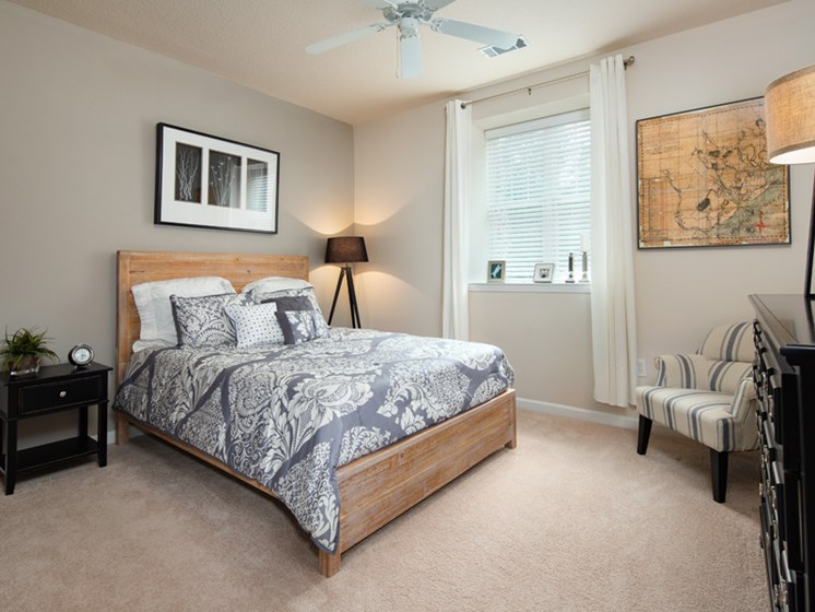Well Appointed Bedroom at Abberly Pointe Apartment Homes, Beaufort, SC