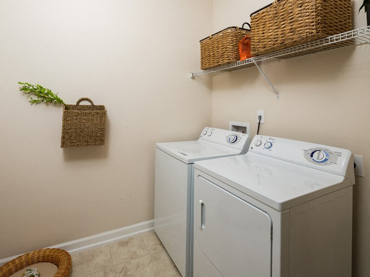 Washer And Dryer In Every Homes at Abberly Pointe Apartment Homes by HHHunt, Beaufort, South Carolina