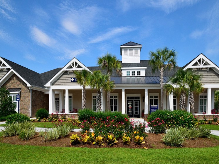 Beautiful Inner Garden at Abberly Pointe Apartment Homes by HHHunt, Beaufort, SC, 29935
