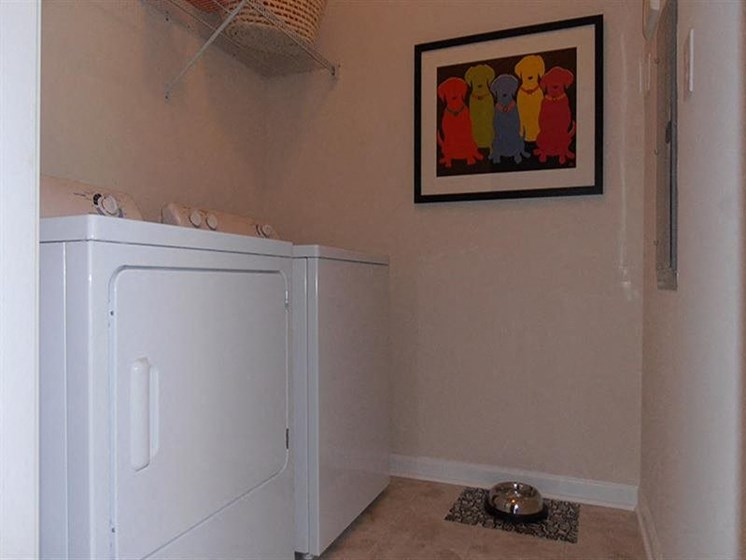 Full-Size Washer and Dryer In Every Home at Abberly Village Apartment Homes by HHHunt, West Columbia, SC