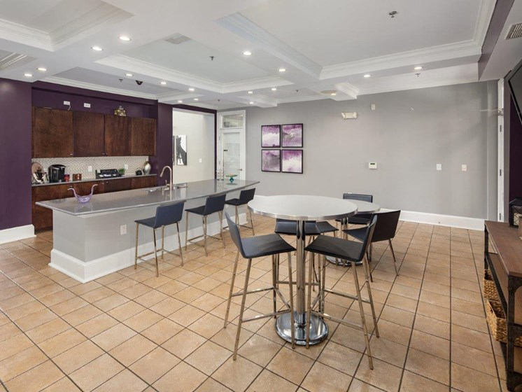 Gourmet Coffee Bar at Abberly Village Apartment Homes, West Columbia