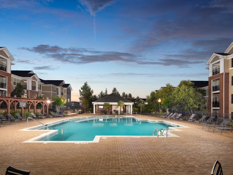 Invigorating Swimming Pool at Abberly Village Apartment Homes, West Columbia, SC, 29169