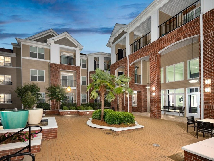 Marvelous View Of The Club House Facility at Abberly Village Apartment Homes, West Columbia, SC