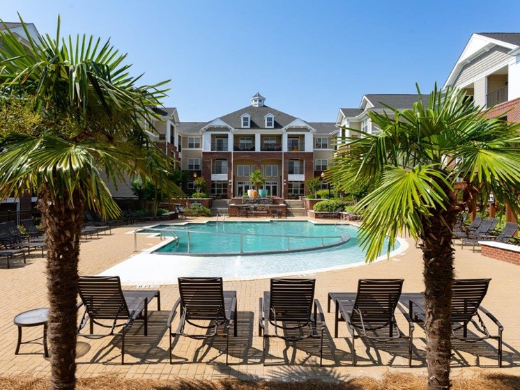 Breathtaking Pool View at Abberly Village Apartment Homes, West Columbia, South Carolina