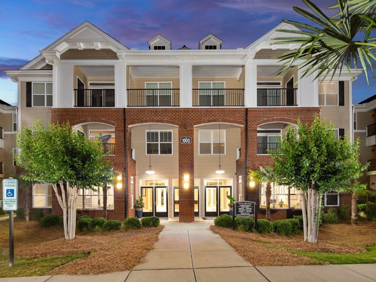Outstanding Exterior View at Abberly Village Apartment Homes by HHHunt, South Carolina, 29169