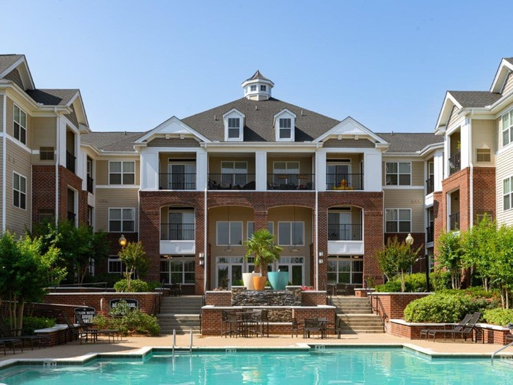 Property Overview With Pool at Abberly Village Apartment Homes by HHHunt, West Columbia, 29169