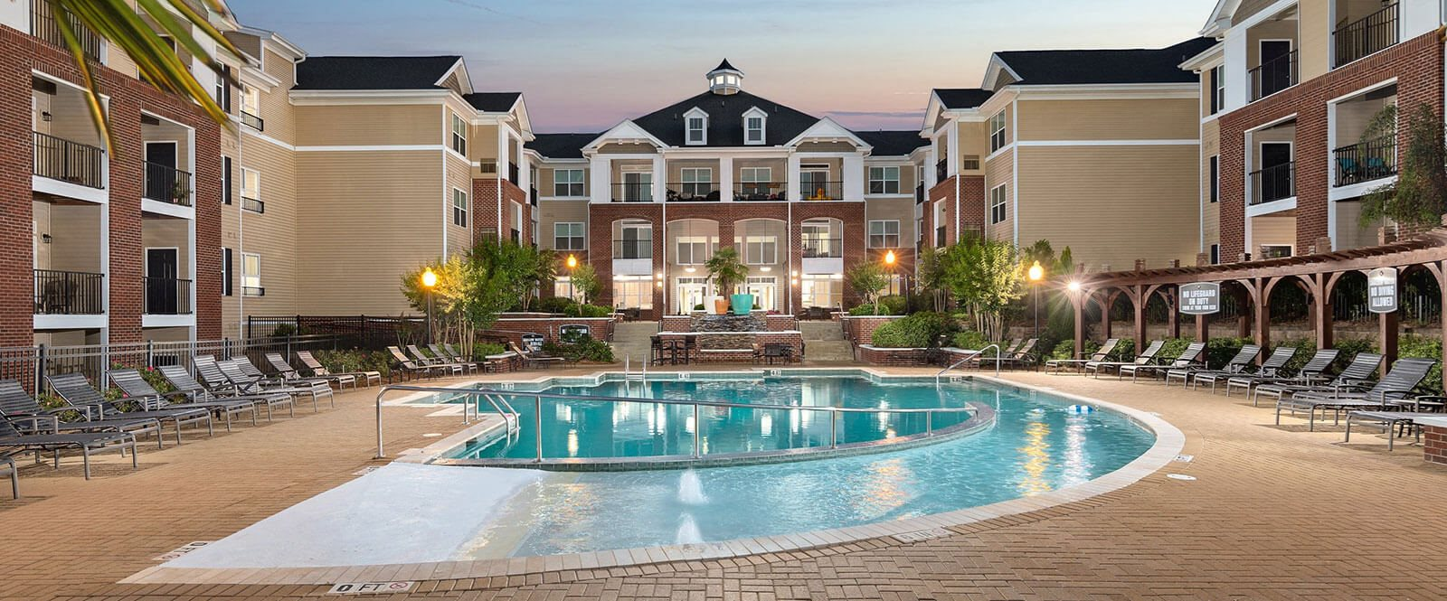 Invigorating Zero Entry Pool at Abberly Village Apartment Homes by HHHunt, West Columbia, SC