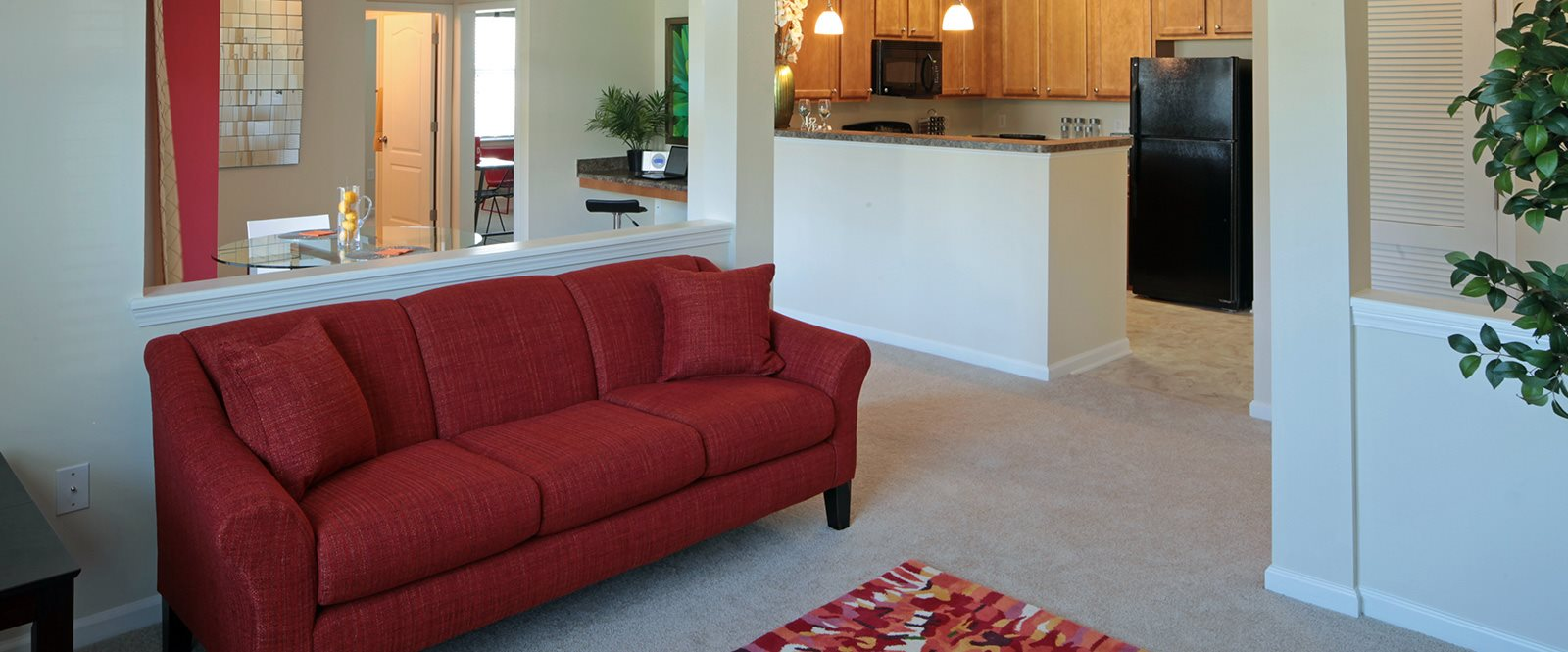 Modern Furniture at Abberly Village Apartment Homes, West Columbia, SC, 29169