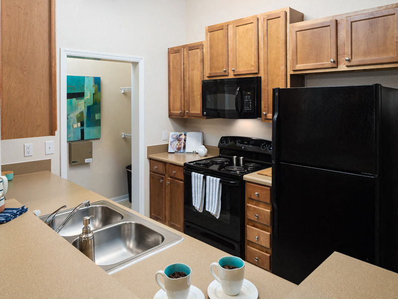 Fully Equipped Kitchen at Abberly at West Ashley Apartment Homes, South Carolina