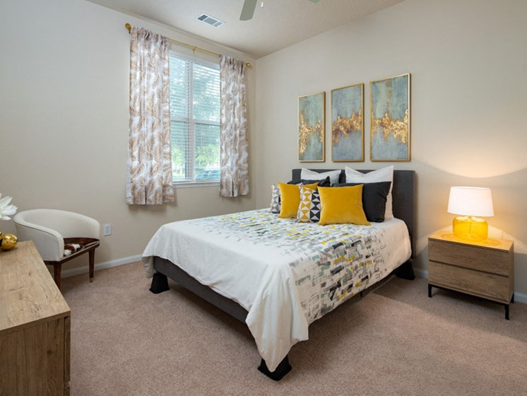 Well Appointed Bedroom at Abberly at West Ashley Apartment Homes, Charleston, SC