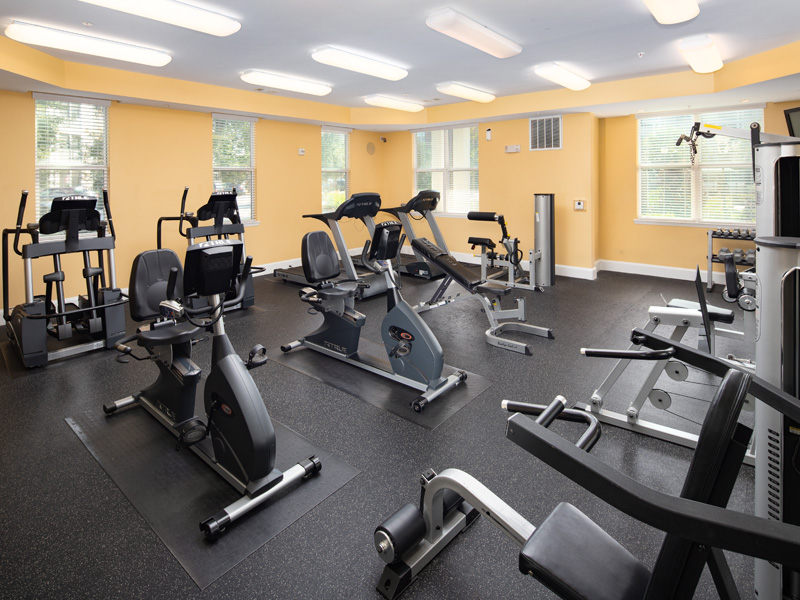 Cardio Studio at Abberly at West Ashley Apartment Homes, Charleston