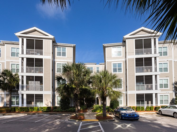 Ample Parking  Space at Abberly at West Ashley Apartment Homes, Charleston, SC