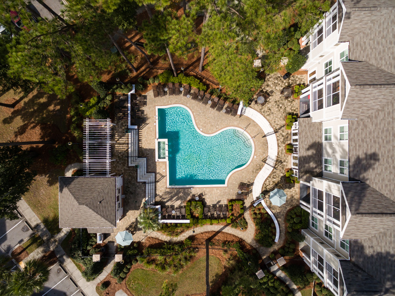 Arial View of Property at Abberly at West Ashley Apartment Homes, Charleston