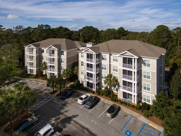 Property Exterior at Abberly at West Ashley Apartment Homes by HHHunt, South Carolina