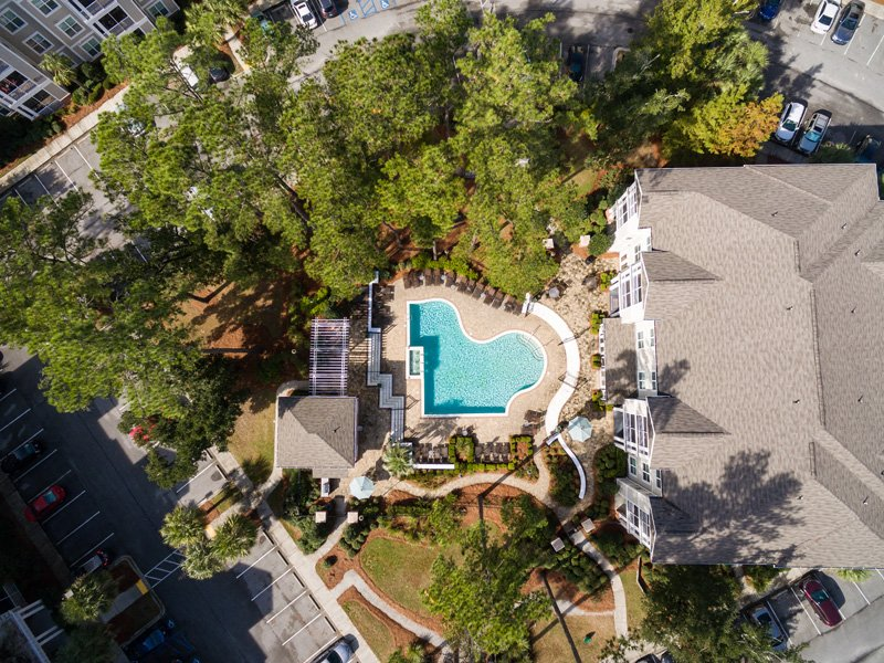 Bird-Eye View of Property at Abberly at West Ashley Apartment Homes, South Carolina, 29414