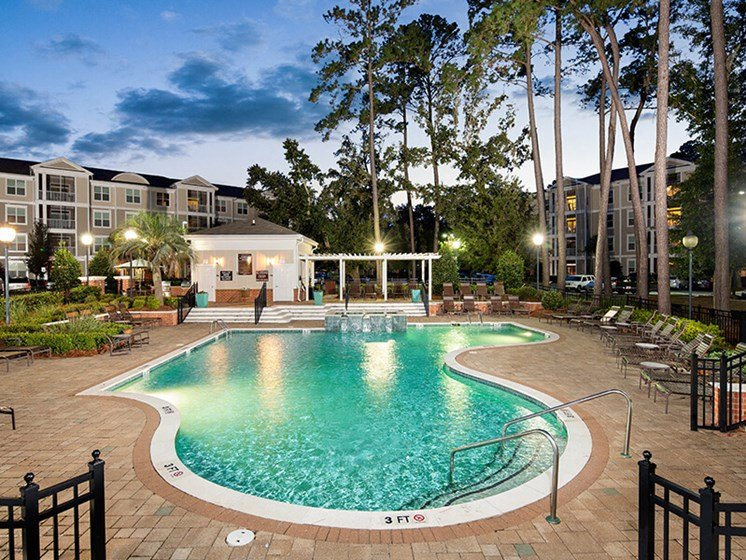 Cool Blue Swimming Pool at Abberly at West Ashley Apartment Homes by HHHunt, Charleston, 29414