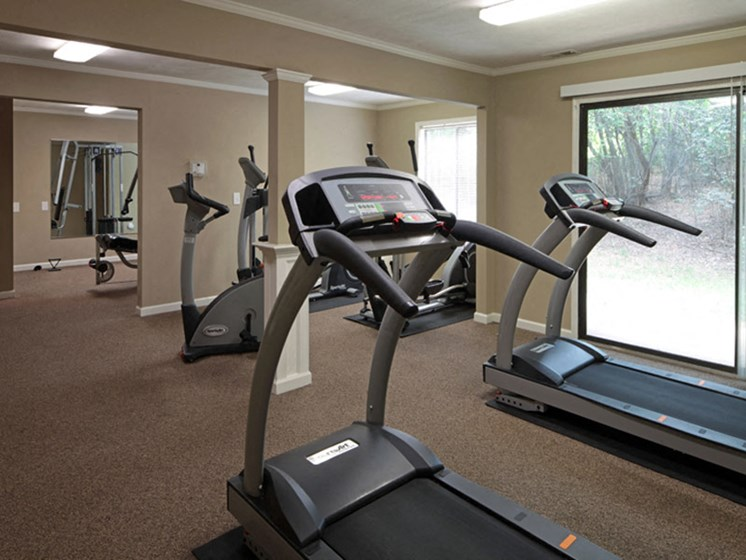 Cardio Equipment at Honeywood Apartment Homes, Roanoke, VA, 24018