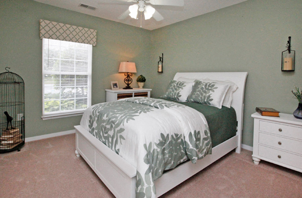 Well Decorated Bedroom With Plenty Of Natural Lights at Abberly Twin Hickory Apartment Homes, Glen Allen, VA, 23059