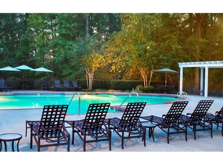 Turquoise Swimming Pool at Abberly Twin Hickory Apartment Homes, Glen Allen, 23059