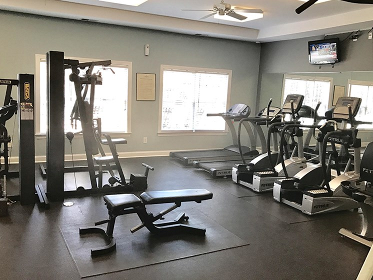 High Endurance Fitness Center at Abberly Twin Hickory Apartment Homes, Glen Allen, Virginia