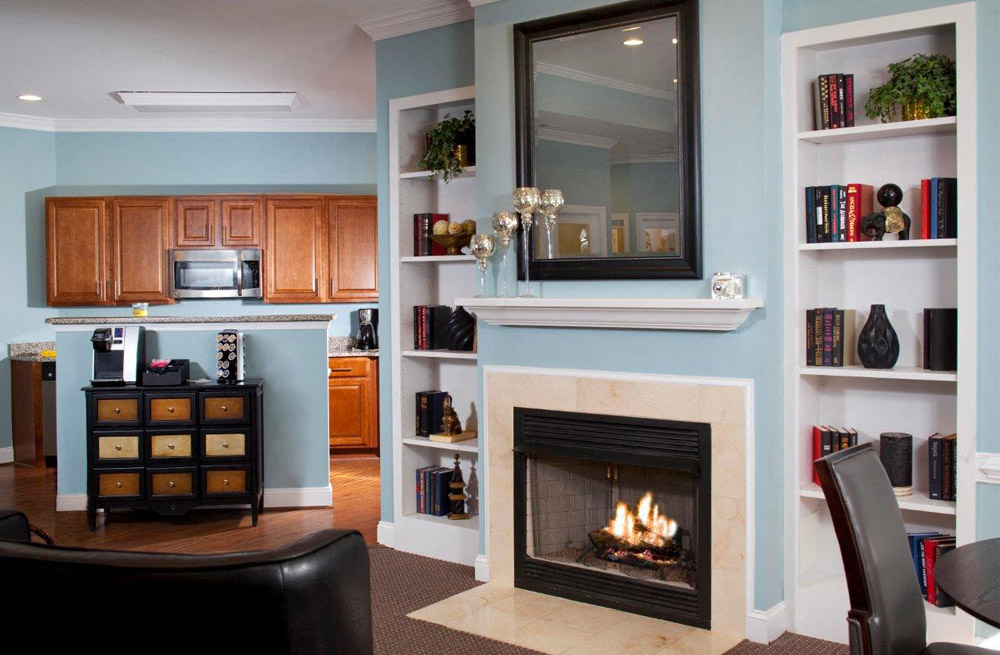 Modern Living Room at Abberly Twin Hickory Apartment Homes, Glen Allen, 23059