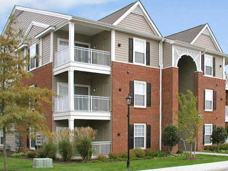 Miles of Sidewalks at Abberly Twin Hickory Apartment Homes by HHHunt, Glen Allen, VA, 23059