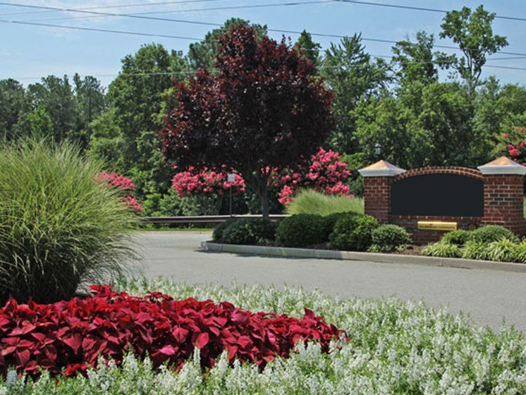 Blooming Garden at Abberly Twin Hickory Apartment Homes by HHHunt, Glen Allen, VA