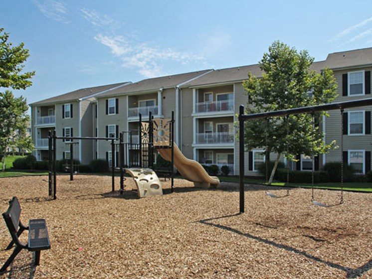 Fun Stop Tot Lot at Abberly Twin Hickory Apartment Homes, Glen Allen, Virginia