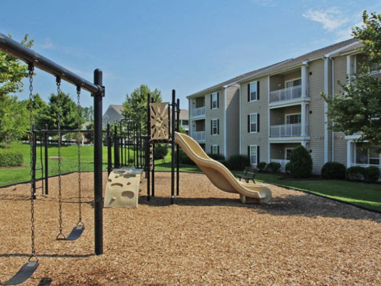 Children's Playground at Abberly Twin Hickory Apartment Homes, Glen Allen