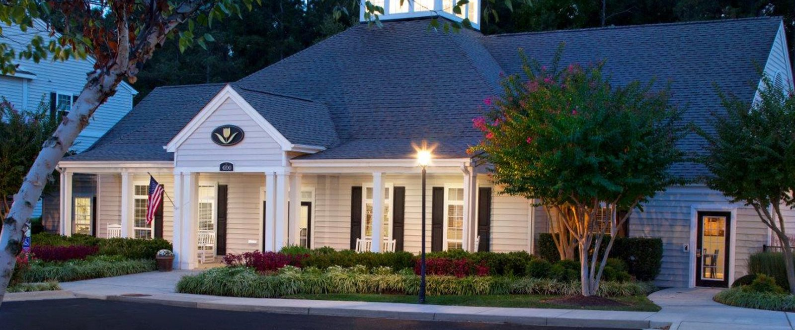 Community Clubhouse at Abberly Twin Hickory Apartment Homes by HHHunt, Virginia