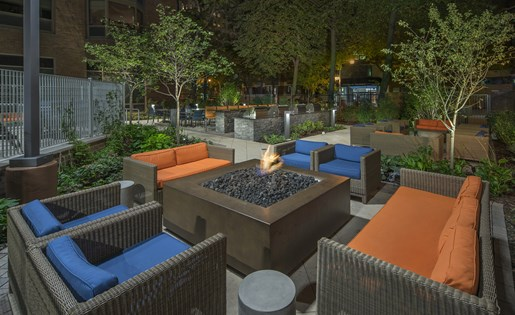 fire pits Chicago apartment