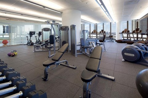 Health and Fitness Center at Hubbard Place, Chicago, 60654