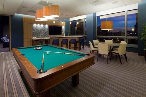 Billiards Room at Hubbard Place, Chicago
