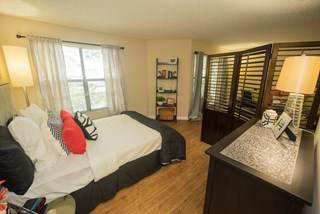 Spacious studio apartments available at Grande Oasis.