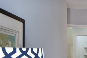 Spacious walk-in-closet available in apartment units at Lake Shore Plaza.