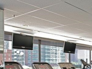 Complimentary fitness center at this Chicago, IL apartment community.