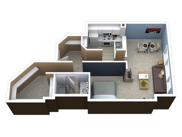 Convertible Floor Plan 1
