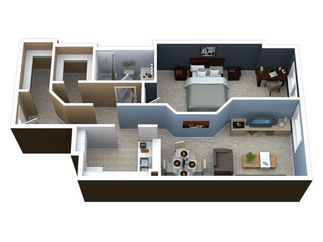 Studio 1 2 bedroom streeterville apartments lake shore plaza for 3 bedroom apartments in lake county il